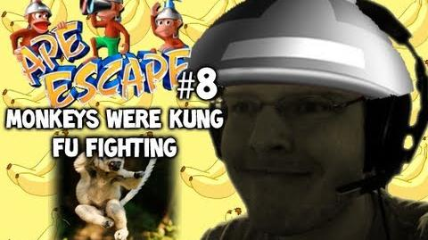 Let's Play - Ape Escape - 8 - MONKEYS WERE KUNG FU FIGHTING