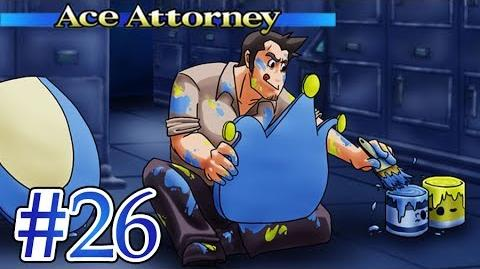 THE BLUE BADGER'S ORIGIN - Let's Play - Phoenix Wright Ace Attorney - 26