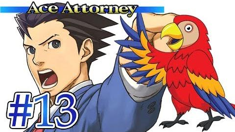 SASSY TALKING PARROT - Let's Play - Phoenix Wright Ace Attorney - 13