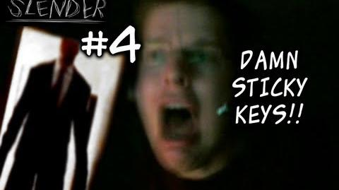 DAMN STICKY KEYS!! - Let's Cry - Slender - 6