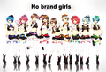 No brand girls by Kashiba