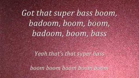 Nicki Minaj-Super Bass(lyrics) 2011(NEW)-1