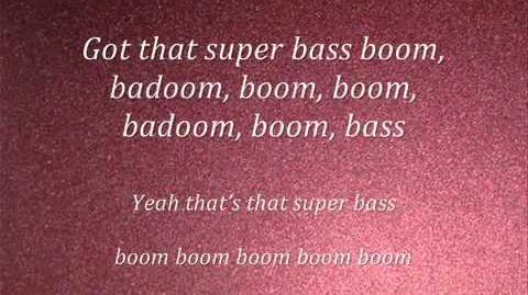 Nicki Minaj-Super Bass(lyrics) 2011(NEW)-1