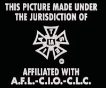 IATSE Logo from Paul Blart Mall Cop 2