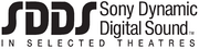 SDDS 1993 logo In Selected Treatres