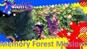 NiGHTS Journey of Dreams Missions - Memory Forest (All A's)