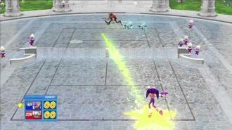 SEGA Superstars Tennis NiGHTS vs Dr. Eggman NiGHTS Court 1080 HD