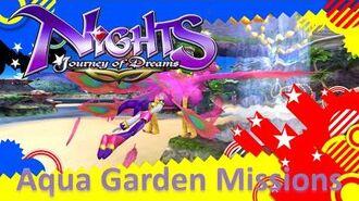 NiGHTS Journey of Dreams Missions - Aqua Garden (All A's)