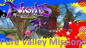 NiGHTS Journey of Dreams Missions - Pure Valley (All A's)