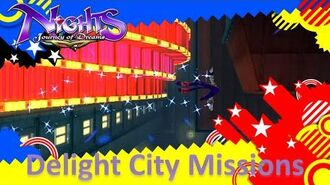 NiGHTS Journey of Dreams Missions - Delight City (All A's)