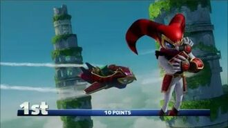 Sonic & All-Stars Racing Transformed (PS3) Reala in Emerald Cup (Expert)