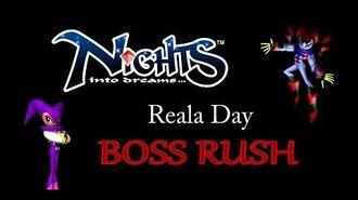 NiGHTS into Dreams - Reala Day - Boss Rush