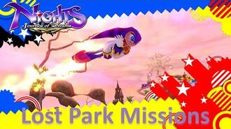 NiGHTS Journey of Dreams Missions - Lost Park (All A's)