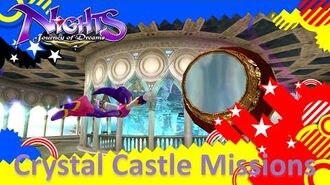 NiGHTS Journey of Dreams Missions - Crystal Castle (All A's)