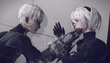 2B and 9S in PS4 Trailer