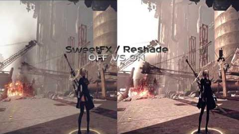NieR Automata Graphics Mod – HDR Mod Reshade Photorealistic SweetFX 1440p