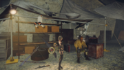 Resistance Camp Weapons Trader