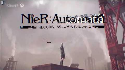 Nier Automata Become as Gods Edition - Coming to Xbox One E3 2018 Trailer HD