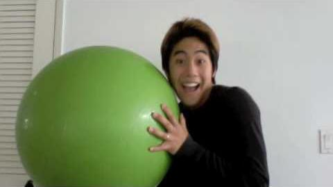 The Big Bouncing Inflatable Green Ball-2