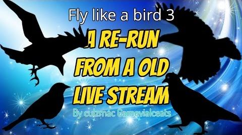 Fly like a bird 3 - LIVE!!! *Re-run*