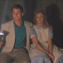 Judy with her boyfriend Jay