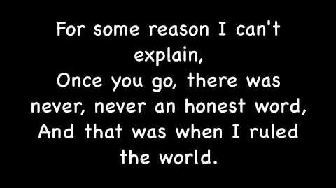 Viva La Vida by Coldplay Lyrics