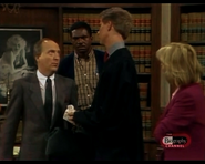 Night Court episode 2x14 - Dr. Osboure argues his case
