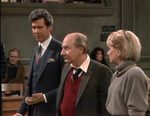 Night Court episode 2x6 - UN rep Mr. Hubbell charged with mugging tourists