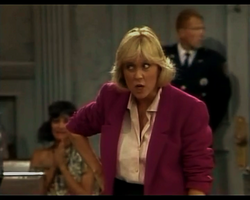 Night Court episode 2x14 - Deborah Harmon as Sue Harper