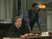 5x7 - Harry's awstruck at having Red Ranger in court
