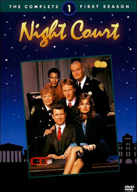 Night Court Season 1 DVD Cover