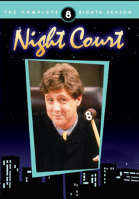 Night Court Season 8 DVD Cover