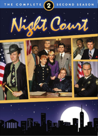 Night Court Season 2 DVD