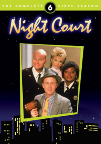 Night Court Season 6 DVD Cover