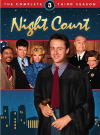 Night Court Season 3 DVD Cover