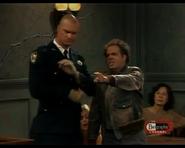 Night Court episode 2x14 - Elmore Watkins and Bull