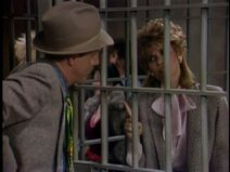Ep 4x8 - Contempt of Courting - Christine in Jail
