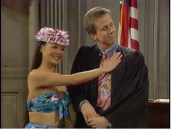 Princess Tatiana and Judge Stone
