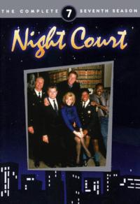 Night Court Season 7 DVD Cover