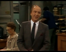 Night Court episode 2x14 - George Pentecost as Dr. Laurence Osbourne