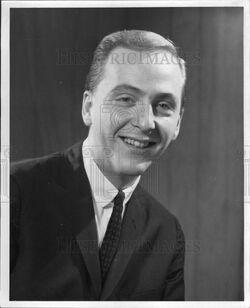 George Pentecost 1960's press photo