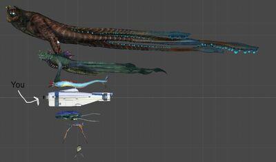 Subnautica Size comparison