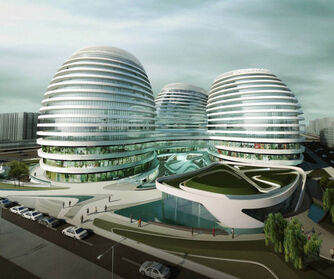 Zaha-hadid-Chinese-futuristic-concept-futuristic-architecture-Galaxy-SOHO-Complex-Beijing-011