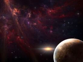 Distant galaxy-normal