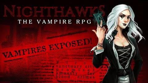 """Nighthawks The Vampire RPG - """"A Night On The Town"""""""
