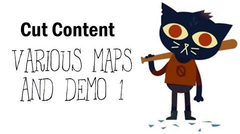 video cut content night in the woods various maps and demo 1 night in the woods wiki. Black Bedroom Furniture Sets. Home Design Ideas