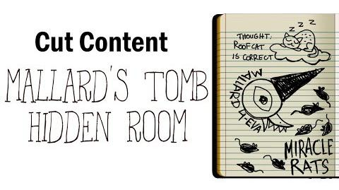 -Cut Content- Night in the Woods - Mallard's Tomb Hidden Room