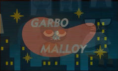 Garbo & Malloy Title Card