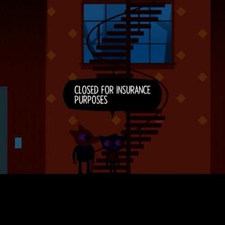 Неработающая лестница