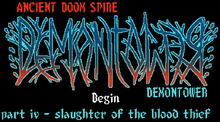 Demontower Title Screen